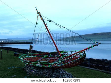 Boat, Dingle, County Kerry, southwest of Ireland