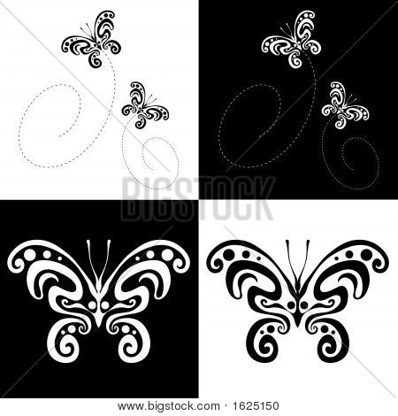 Butterfly Ornamental Art 21