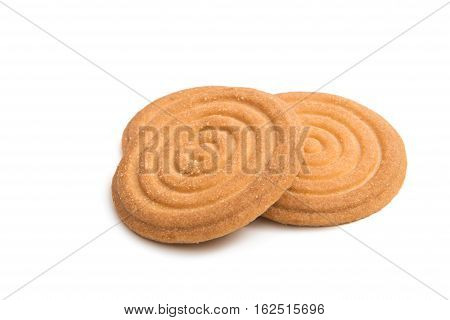 cookies iring sweet solated on white background