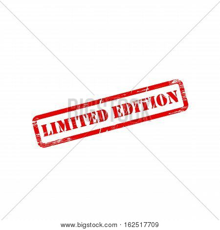 LIMITED EDITION stamp vector grunge design with scratches. Color is easily changed.