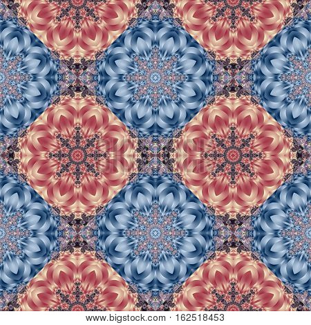 Two-tone seamless pattern with spiral and circle ornament. You can use it for invitations notebook covers phone case postcards cards ceramics carpets and so on. Artwork for creative design and art.