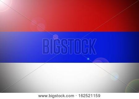 Russia national flag illustration symbol. Russia flag