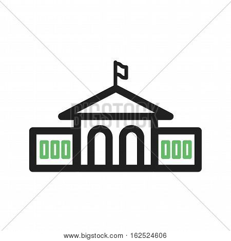 Graduate, students, university icon vector image. Can also be used for town. Suitable for use on web apps, mobile apps and print media.