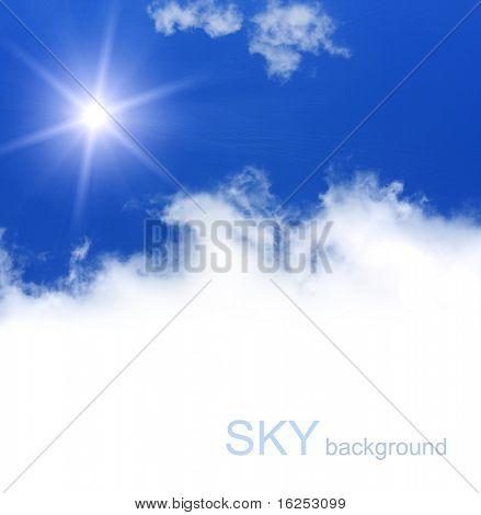 mavi gökyüzü arka plan