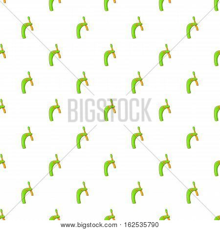 Faucet for beer pattern. Cartoon illustration of faucet for beer vector pattern for web