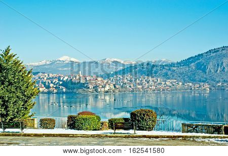 Kastoria From The Lake
