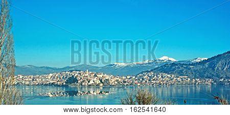 Panorama Of Kastoria