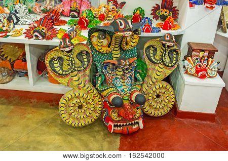 The Naga Mask From Sri Lanka