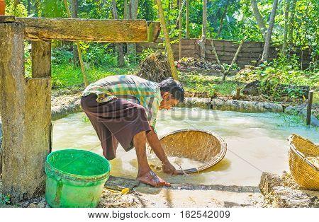 Washing The Gems