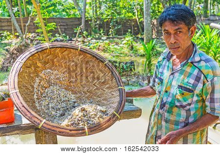 The Worker With Basket