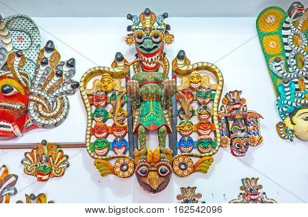 The Ritual Sri Lankan Mask