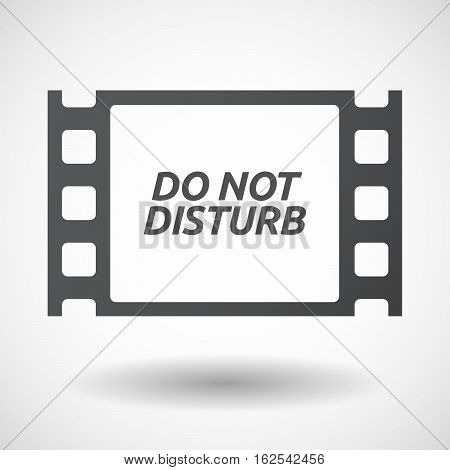 Isolated Frame With    The Text Do Not Disturb