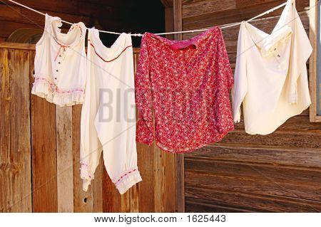Primitive Clothes Dryer