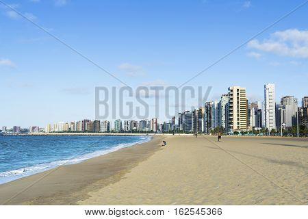 A view of Iracema Beach in Fortaleza, Ceara, Brazil.