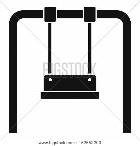 Swing icon. Simple illustration of swing vector icon for web