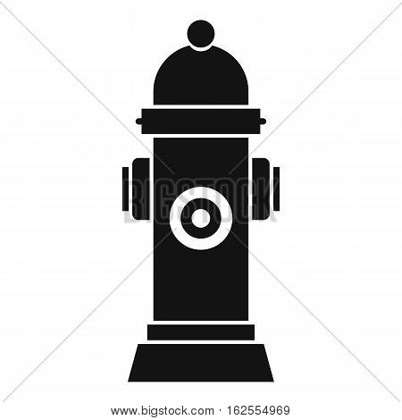 Hydrant icon. Simple illustration of hydrant vector icon for web