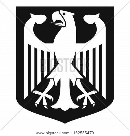 Coat of Arms of Germany icon. Simple illustration of coat of arms of Germany vector icon for web