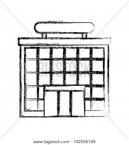 airport terminal building icon vector illustration design