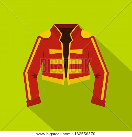 Costume of toreador icon. Flat illustration of costume of toreador vector icon for web
