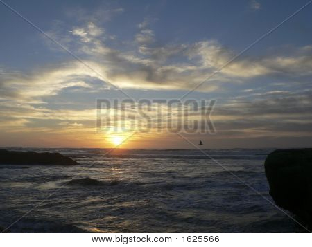 Sunset Bermuda Beach