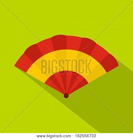 Fan icon. Flat illustration of fan vector icon for web