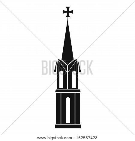 Church icon. Simple illustration of church vector icon for web