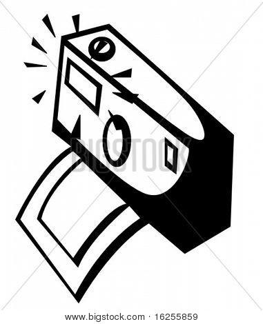 instantaneous  photo camera