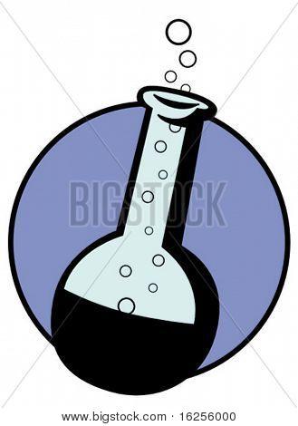 chemické sklo matrass