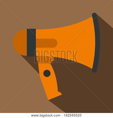 Mouthpiece icon. Flat illustration of mouthpiece vector icon for web