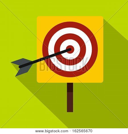 Darts icon. Flat illustration of darts vector icon for web