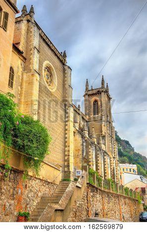 Sacred Heart Church in Gibraltar, a British Overseas Territory