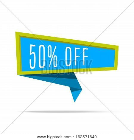 Super Big Sale shining banner on colorful background. Sale background. Geometric design label. Super sale tag and special offer. Vector illustration advertising coupon for sale sign.