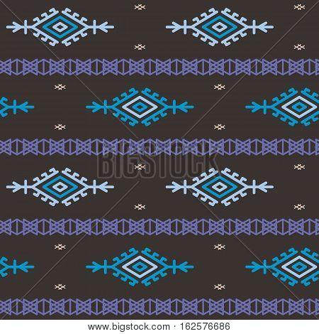 Russian ukrainian and scandinavian national knit styled pattern pastel colors.