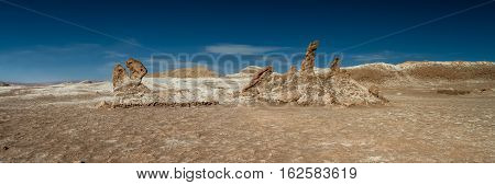 Les Tres Marias Valley of the moon Atacama desert Chile