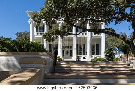 The Governor's House In Austin Texas