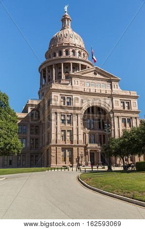 The Capitol Building In Austin Texas