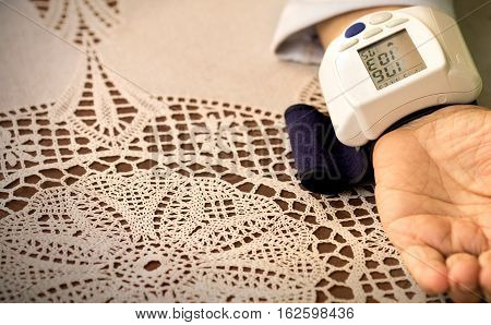 Measurement blood pressure, hypertensive, health care and medicine