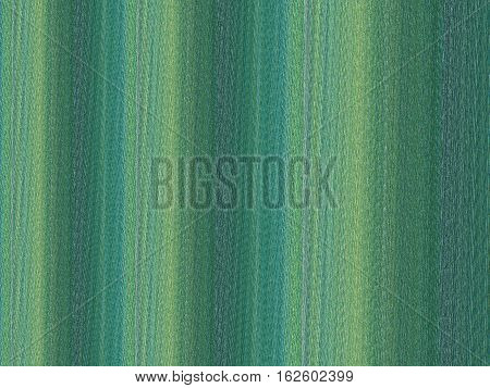 Background of wide-striped textured panels in shades of green blue and yellow. Can be oriented horizontally or vertically.