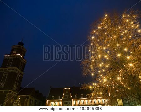 Christmas time in the City of coesfeld