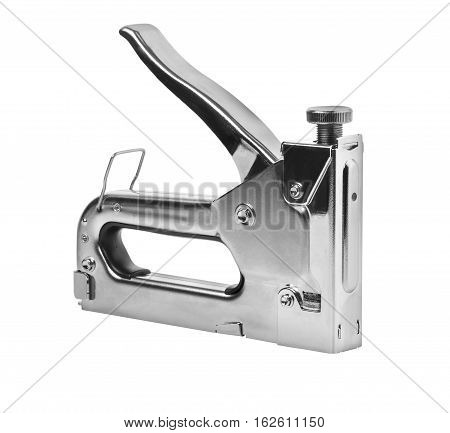 Industrial stapler isolated on white background with clipping path