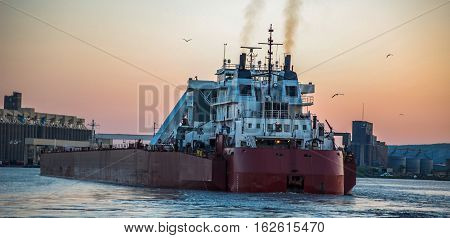 cargo ship for transportation near Duluth MN