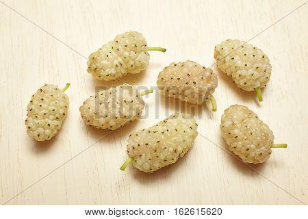 White Mulberry Berries