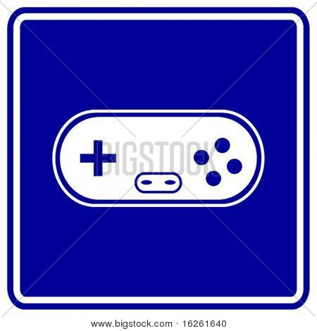 joypad game controller sign