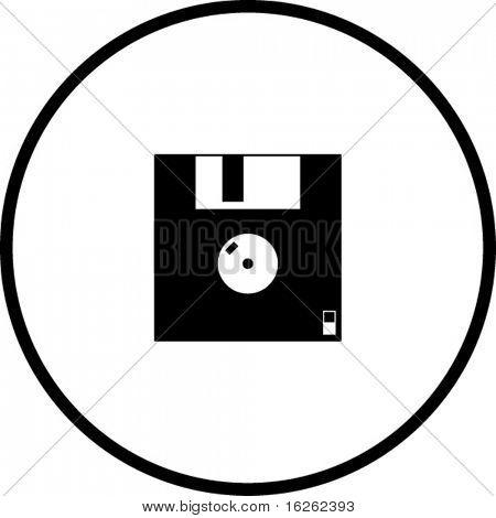 floppy disk back symbol