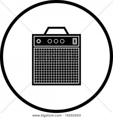 instrument amplifier symbol