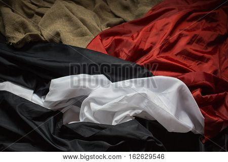 wrinkled fabric colored fabric raw material red black blue white fabric linen fabric clothes manufacturer