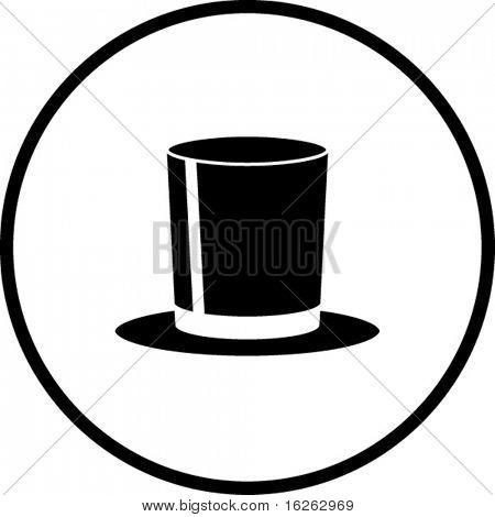 top hat symbol