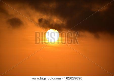 Baldwin Hills Overlook Sunset