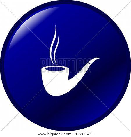 smoking pipe button