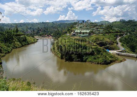 Upper Kotmale Dam, Kotmale Hydropower Project - Sri Lanka